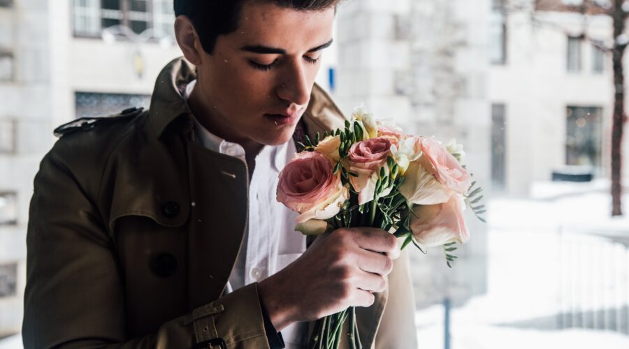 Blumen für Männer